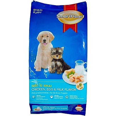SmartHeart Puppy Dry Dog Food Chicken, Egg & Milk Flavour, 1.5 kg