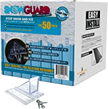 steel roof snow guards