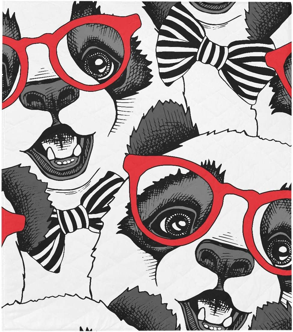 WIEDLKL Quilt Throws Seamless with specialty shop Image A M Panda Child in of Manufacturer direct delivery