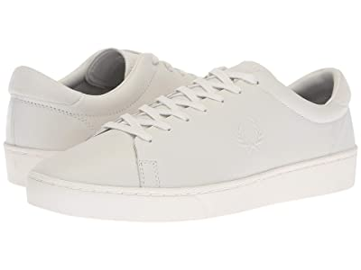 Fred Perry Spencer Premium Leather (Porcelain) Men