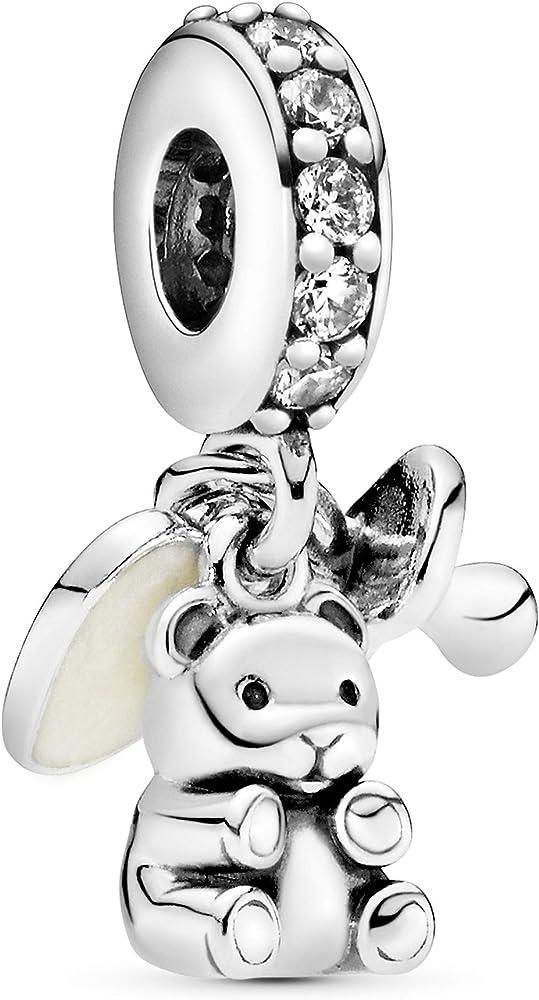 Pandora ciondolo bead charm pendente i tesori del bebè per  donna argento in argento sterling 925 792100CZ
