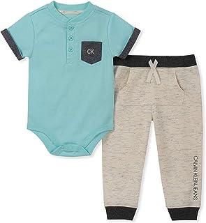 Calvin Klein - Juego de 2 Pantalones de chándal para bebé