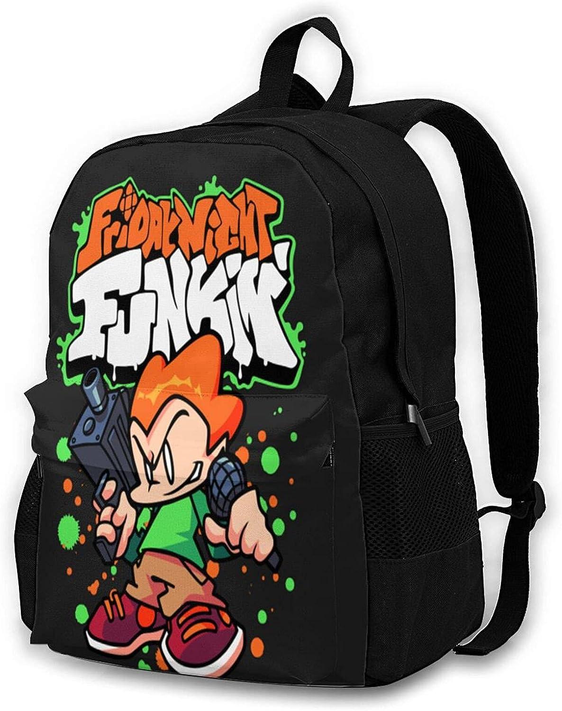 Friday Night Funkin Pico Adult Ranking TOP11 Bag Shoulder Backpack San Antonio Mall Children Ba