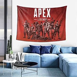 """Ape-x Leg-endS Tapestry Wall Hanging Art Posters Decoration For Bedroom Living Room Dorm Table Cover Picnic Mat Beach Blanket 60"""""""" X 40"""