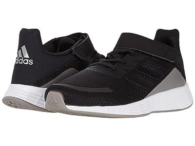 adidas Kids Duramo SL (Little Kid) (Core Black/Core Black/Grey Six) Boys Shoes