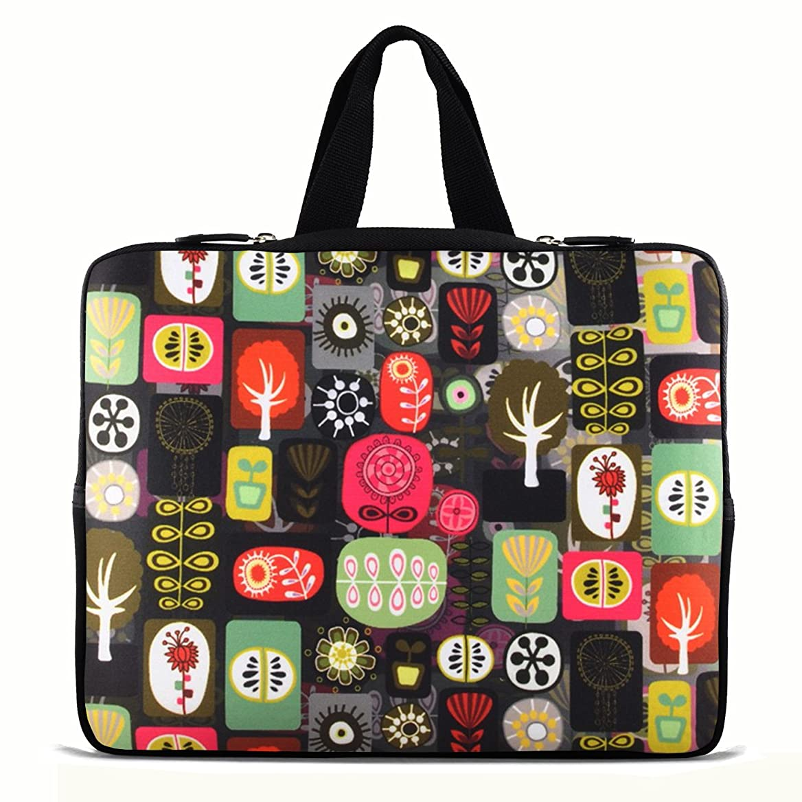 Laptop Sleeve Bag Case Cover 15-Inch 15.6-Inch Tree ,Hide Handle For dell inspiron 1545 15R dnywnzcmhq06