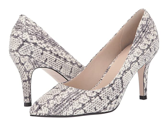 Cole Haan  G.Os Juliana Pump 75 (Natural Python Print/Leather) Womens Shoes