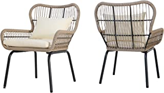 Best wicker club chair indoor Reviews