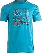 Shark Species | Ocean Week Fan Theme Birthday Party Dad Mom Men Women T-Shirt