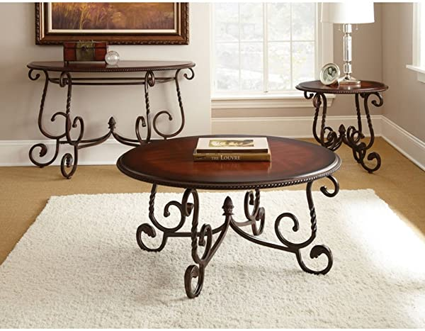 Steve Silver Company Crowley Sofa Table 48 X 20 X 30
