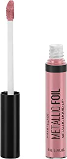 Maybelline Lip Studio Metallic Foil Metallic Liquid Lipstick Makeup, Luna, 0.16 fl. oz.