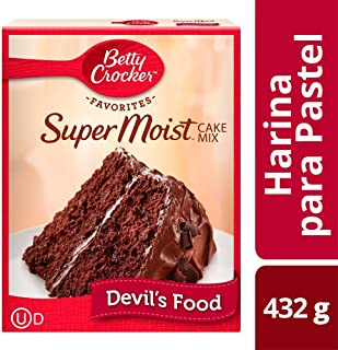 Betty Crocker Cake Mix Devil´s Food, Chocolate, 432 g