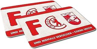 1. FC Union Berlin Frühstücksbrettchen, Stullenbrett FCU 2er-Set
