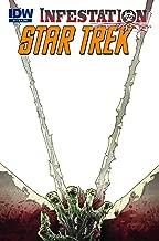 Star Trek Infestation #1 Blank Variant Cover