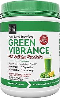Best Vibrant Health, Green Vibrance, Vegan Superfood Powder, 60 Servings (FFP) Review