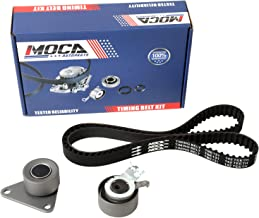 MOCA TCK331 Timing Belt Kit with Tensioner for 1998-2009 Volvo V70 S70 C70 V40 S60 XC90 S40 XC70 S80 2.4L 2.5L L5