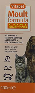 Vita Pet Products Bob Martin Vitapet Moult Formula for Cat and Dog, 400Ml