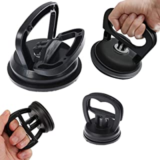 IYSHOUGONG 2 Pack Car Repair Tools Suction Cup Dent Puller Handle Lifter Car Dent Puller Remover برای تعمیر دندانه های اتومبیل ، شیشه ، کاشی ، آینه ، بالابر گرانیت و جابجایی اشیا ، 2 اندازه
