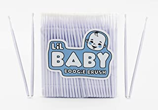 Baby Boogie and Eye Gookie Brushes, Felt Tip Mini Brushes Get in Hard to Reach Places and Clean Earwax, Boogies, and Gooki...