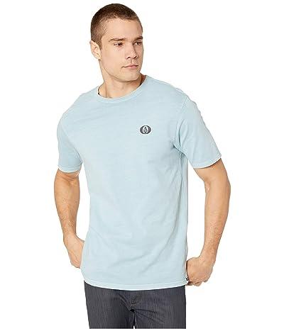 Volcom Thicko Short Sleeve Tee (Cool Blue) Men