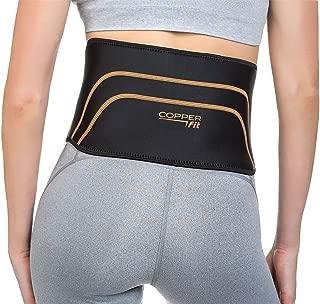 Copper Fit Back Pro Brace Lower Back Support Compression Belt Size S/M 28