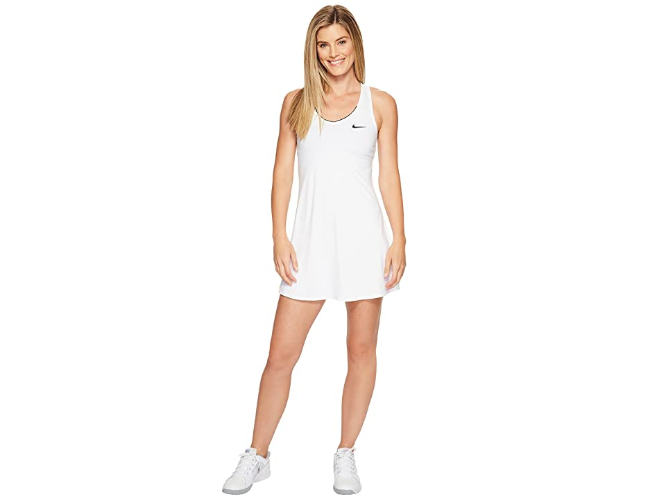 Nike Nike Court Dry Tennis Dress (White/White/White/Black) Women