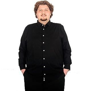 Mode XlBuyuk Beden Erkek Uzun Kollu Likra Gomlek 171