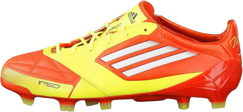 adidas F50 Adizero TRX – Chaussures de Football, Cuir - Orange ...