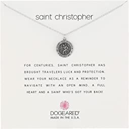 Dogeared - Saint Christopher Travelers Reminder Necklace