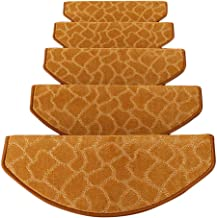 JIAJUAN Soft Stair Carpet Treads Self-Sticking Non Skid Stairs Floor Pad Simple, 4 Colors, 4 Sizes (Color : C-1 pcs, Size ...