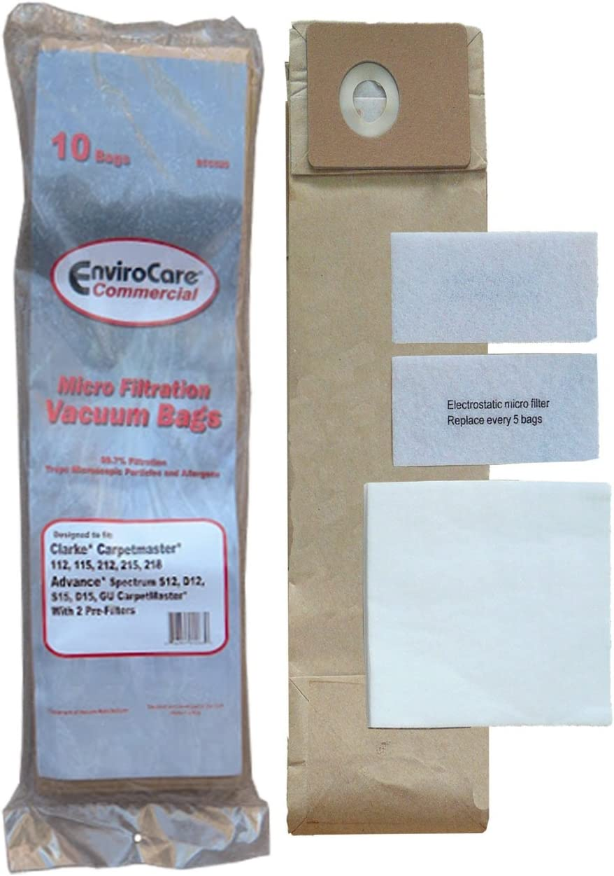 EnviroCare 4 years Max 60% OFF warranty Replacement Micro Filtration Cleaner Vacuum Bags Dust