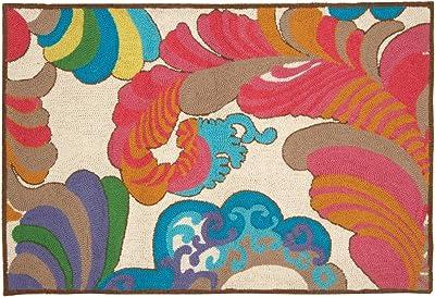Peking Handicraft Trina Turk Coachella 27 by 40-Inch Hook Rug