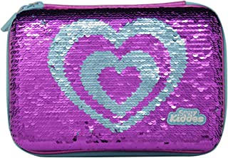 Smily Kiddos Smily Bling Butterfly Pencil Case Purple Large Capacity Pencil Case Multi Purpose Pencil Case Large Storage O...