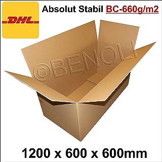 1 Stuck Faltkarton 1200x600x600 Mm Umzugskartons 2 Wellig BC Welle 660g M2