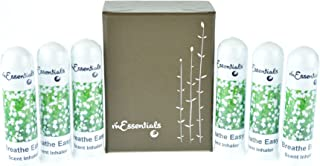 mEssentials 6 Pack of Breathe Easy Aromatherapy Nasal Inhalers Made with 100% natural, therapeutic grade essential oils to help keep your sinuses and nasal passges clear and cool