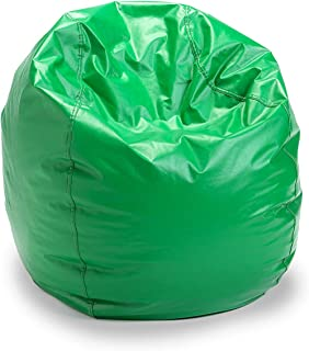 Adult Size Bean Bag Chair (Green) 100% American  sc 1 st  Amazon.com & Amazon.com: Green - Bean Bags / Game u0026 Recreation Room Furniture ...