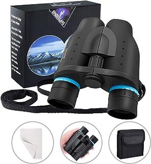 Gafild Binoculares, 10x25 HD Compact Binoculars Prismáticos niños pequeños Profesionales Binoculars for Adults para Viajes al Aire Libre, Observación de Aves, Caza, Concierto