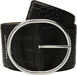 "85 mm (3.3"") Oversized Croc Belt"