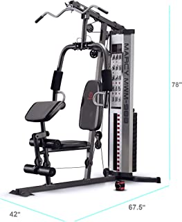 21082b84977 Marcy Multifunction Steel Home Gym 150lb Stack MWM-988