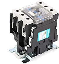 Contator elétrico, placa de fiação frontal Tipo trilho contator CA de alta sensibilidade, para distribuição de energia
