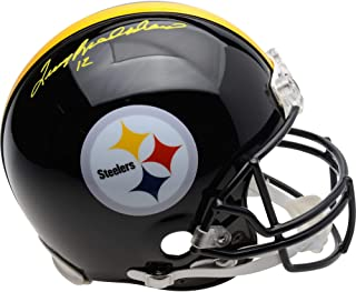 Terry Bradshaw Pittsburgh Steelers Autographed Riddell Authentic Helmet - Signed in Yellow Paint - Fanatics Authentic Certified