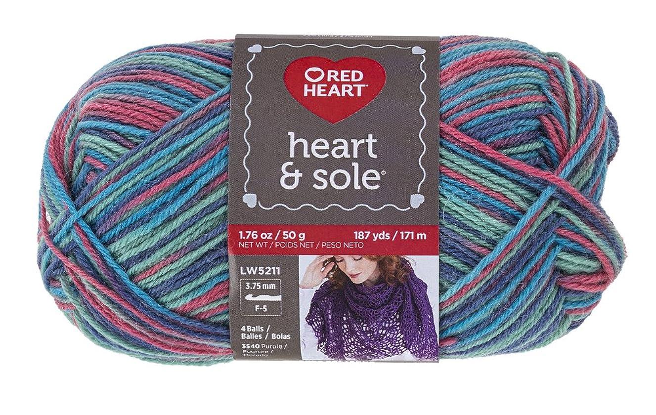 Red Heart Heart and Sole E840 Yarn, Sorbeto