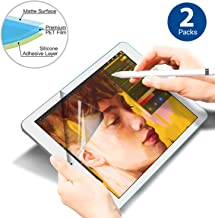 Screen Protector Paper-Like, High Touch Sensitivity Anti Glare Scratch Resistant Paperlike Film Writing Apple Pencil for iPad pro 9.7,10.5,11,12.9 inch