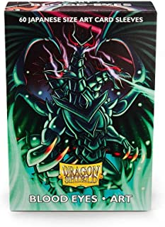 Arcane Tinmen ApS ART12601 Dragon Shield: Japanese Art Sleeves-Blood Eyes (60), Multicoloured