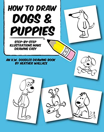 How To Draw Dogs And Puppies Step By Step Illustrations Make