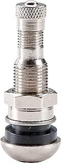 Reifenventil Metall Ventil Chrom Hofmann Power Weight 100x Reifenventil Metallventil Chrom 42MS11,3 Felgenventil Metallventil Auto Reifen
