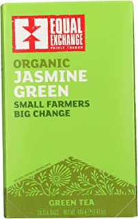 Jasmine Green Tea Organic 20 Bags (Case of 6)
