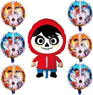 Coco Miguel Balloons Party Supplies For Kids Birthday Festive Party Decoration