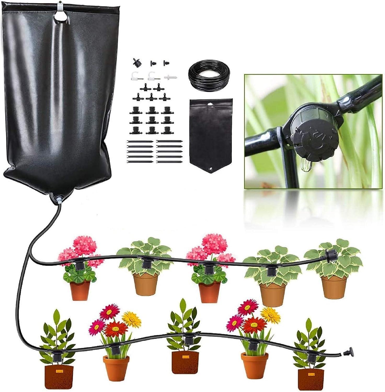 Buy CYEVA Indoor Self Watering System with 20L Water Bag, Gravity ...