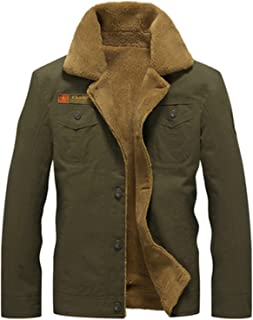 Winter Bomber Jacket Men Air Force Pilot Jacket Warm Male Fur Collar Army Jacket Tactical Mens Jacket Siz